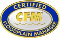 Certified Floodplain MAnager logo CFM